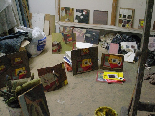 studio paintings, 2007
