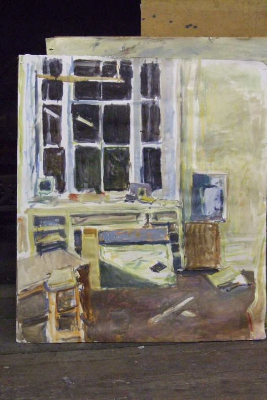 untitled (night painting, hospitalfield)