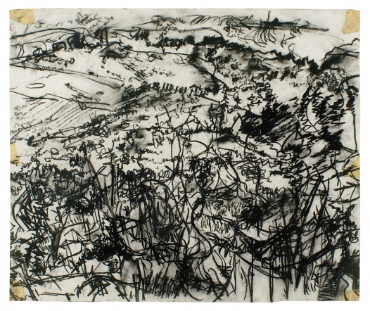 untitled (landscape drawings, southend, mull of kintyre) drawing 3