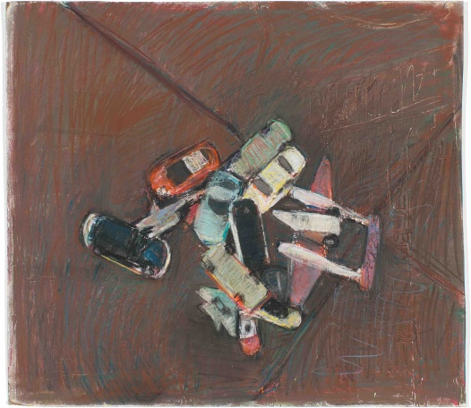 untitled (toy car collision)