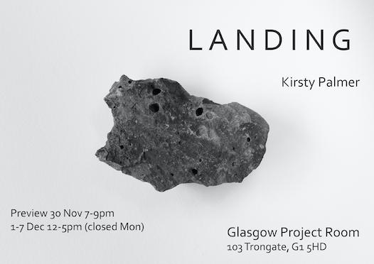 LANDING by Kirsty Palmer