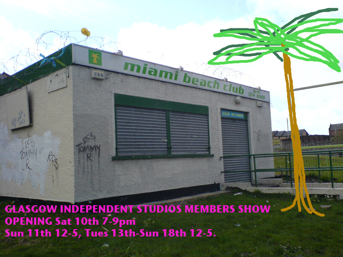 Glasgow Independent Studio Members' Show