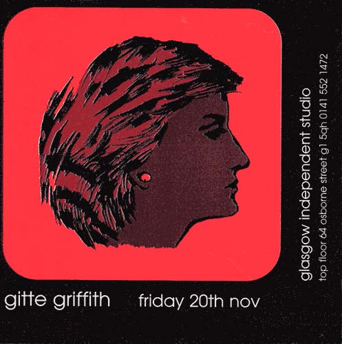 Gitte Griffith - Solo Show - painting