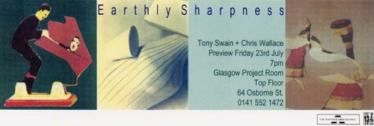 Tony Swain and Chris Wallace - Earthly Sharpness