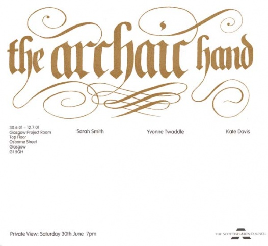 The Archaic Hand