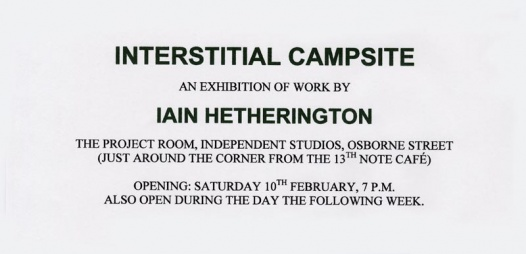 Interstitial Campsite
